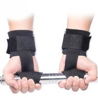 Wholesale Hot Weight Lifting Hand Bar Grips Straps Wrist Support Gym Training WrapsGloves H210672