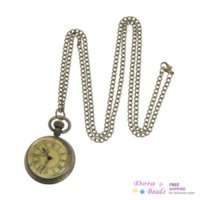 antique ceiling fans - Pocket Watches Round Antique Bronze Roman Numbers Carved Battery Included cm long quot Piece B80019 battery powered ceiling fan
