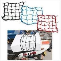 atv windshield - Atv motorcycle accessories Black x40 CM Hooks Bungee Motorbike Motorcycle Cargo Net Helmet Net