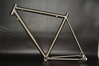 Wholesale Supply professionally gr9 Ti3al2 v C titanium road bicycle frame with size mm directly from China good supplier