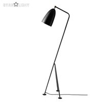 Wholesale Designer Creative Iron Gubi Grasshopper Shake Floor Lamp Loft Industrial Standing Lamp Hotel Bedroom Study Living Room Light