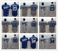 Wholesale Los Angeles Dodgers Kirk Gibson Adrian Gonzalez Fernando Valenzuela Yasiel Puig HyunJin Ryu Flexbase Jerseys