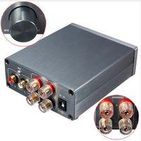 advanced enclosures - 2 Audio Stereo Digital Power Amplifier TPA3116 Advanced W W Mini Home Aluminum Enclosure amp Breeze Audio HiFi Class