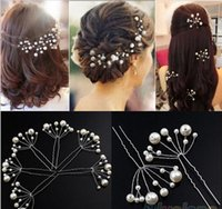 antique hair pieces - 5 pieces bridal hair pins clips accessories for wedding bridal Bridesmaid white and red pearls hair piece hairpin comb fascinators