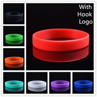 Wholesale Brand Classical Basketball Sports Wristband Silicone Multicolor Bands Energy Bracelets with Name Logo and Hook Cuff Bracelet Jewelry