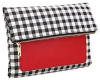 Wholesale IPad Holder Clutch BUY ONE GET ON FREE Popular Day Clutches for Ipad Protection Fold Over Style Gingham ZWY