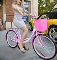 bicycle exercise equipment - 2016 Women s bicycle commuter Leisure City Light Princess lady who retro Exercise Cycling Equipment commuter bike