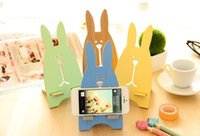 Wholesale cute rabbit detachable mobile phone support