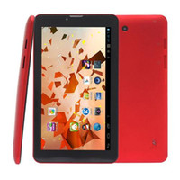 Wholesale 7 Inch G Phone Call Tablet PC AllWinner MT6572 A23 Q88 GHz Android M G Big Battery Wifi Webcam