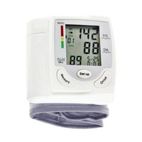 Wholesale Digital Wrist Type Blood Pressure Monitor Portable Blood Pressure Monitor with Large LCD Sreen for Home Use