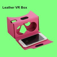 big cinema - VR Box Glasses Virtual Reality D Glasses Leather VR BOX II Version Turn Your Small Screen Into Big Screen D Cinema