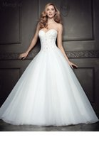 Wholesale 2016 Strapless Sweetheart Neckline With Beading Tulle Wonderful Princess Ball Gown Be351 J26T Ella Rosa Bridal Gowns Wedding Dresses