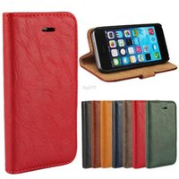 bark textures - Retro Bark Texture Genuine Flip Leather Pu Case for iPhone case s s i5 cell phone bag Luxury Stand Wallet Back Cover
