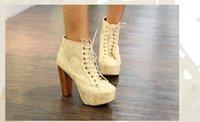 apricot blossoms - NEW apricot black cherry blossoms texture platform wooden heel ankle bootie