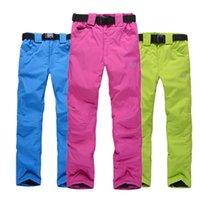 Wholesale Men or Women Ski Pant Outdoor Winter Snowboard Pant Breathable Winter Outdoor Trousers Bib Pant for Women or Men Various Colors