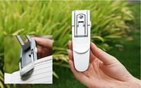 Wholesale 200pcs Foldable Robotic Clip On Super Bright LED Book Light Lamp Clip Flexible Kindle Book Reading Light Included Batteries