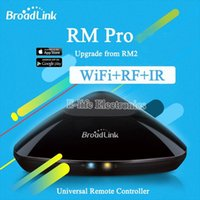 Wholesale Original Broadlink RM2 RM PRO Universal Intelligent Remote Controller Smart Home Automation WIFI IR RF Switch Via IOS Android