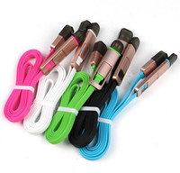 Wholesale 1m in Micro USB A Sync Charger Data Cable For Apple iPhone iPhone s s Plus Ipad Mini Samsung Android