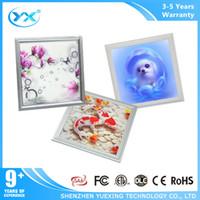 Wholesale YueXingkj led energy saving d panel dimmable ceiling led light with unique design d effect pattern