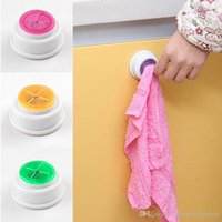 Wholesale 2016 New dishclout rack Wash cloth clip holder clip dishclout storage rack bath room storage hand towel rack kitchen Tools