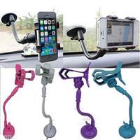 Wholesale Universal Car Windshield Mount Holder Bracket For GPS iPhone Samsung Phone ugoo sale limited