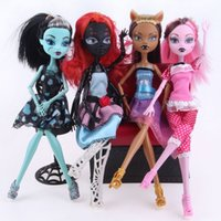 Wholesale 4pcs New style monster inc high doll monster hight christmas gift fashion dolls HOT