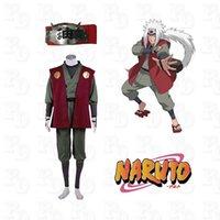 Cheap Cartoon Character Naruto Jiraiya Cosplay Anime Cosplay Costume Cosplay Headband