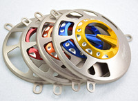 aero motorcycles - Motorcycle Cooling Fan Cap Cover Protector Red For YAMAHA Zuma BWS GTR Aero NXC Cygnus Flame X SR FI X Over YW125 NXC125