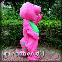 barney the dinosaur costume - 2016 The latest Best New dinosaur Barney Dinosaur Mascot Costume Cartoon Party Dress Adult