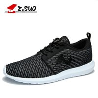 Cheap Hot selling New Color Z.SUO Mens Running Shoes, breathable mesh sports shoes free shipping worldwide