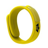 Wholesale Auberge Natural Mosquito repellent bracelet With Free Refills for Children No Deet Repellent For Ants Other Mosquitoes yellow