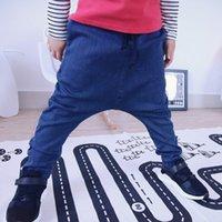 baggy jeans kids - Nununu Kids Jeans Baby Boys Girls Leggings Autumn Winter Kids Denim Baggy Pants Harem Pant for m y Children Pants Z019