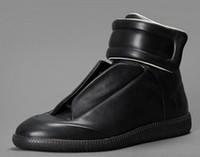 Wholesale Hot Newest Men Brand Maison Martin Margiela Genuine Leather High top Sneakers Men shoes