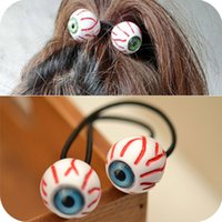 Wholesale hair accessories for women Personality Brand New Fashion Women Blue Green Eyes Hair Rubber Bands SHR106