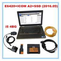 Wholesale New Arrival for bmw icom a2 b c with software v2016 newest gb SSD E6420 laptop i5 cpu GM ready for work
