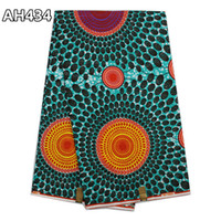 african cotton prints - High Quality dutch wax fabric cotton African printed wax real wax cloth for party dress AH434 AH435 AH436