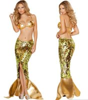 Wholesale halloween costume mermaid costume sexy costume fashion costume