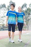 Wholesale SNG2016 Table Tennis clothes Men Women badminton suit badminton uniforms sports Tennis clothes pingpong clothes set