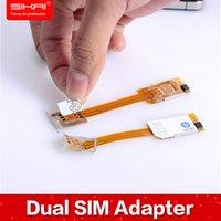 apple iphone software - Free Case Dual SIM Adapter Magic Sim Card Hub Dual Sim Cards Holder For iphone plus NO Jailbreak No Software