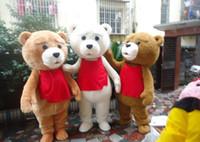bear tedy - 2015 positive feedback seller hot sale tedy costume adult fur teddy bear mascot costume
