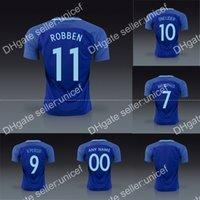 article form - THAI QUALITY Euro holland new AWAY BLUE CUSTOMIZED soccer uniform football kits robben sneijder memphis vanpersie mesh form article