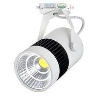 Wholesale cob led track lighting W W W spotlights warm white white cold white high lumen track lights V CE ROHS FCC TUV UL