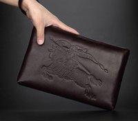 beige envelope clutch - Factory sales brand men bags fashion new litchi grain is men bag high capacity soft leather mens hand caught leather men bags