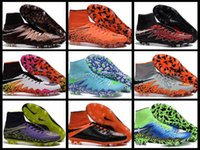 Cheap 2016 New Hypervenom Phantom II FG Mens Football Shoes Cleat Hot Sale Soccer Shoes Original Football Boots Men Sneakers Sport Cleats 39-45