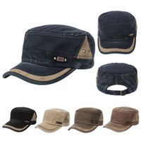 baseball details - Unisex Men Women Details viseira Adjustable Classic Army cap Plain Vintage boinas masculinas Hat Cadet Military Baseball Cap W1