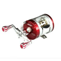 bc fishing - SEAHAWK BC Light Al Alloy Body Cover One Way Clutch Ball Bearing Fishing Reel BB Red And Silve