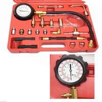 assorted cables - TU Fuel Injection Oil Combustion Spraying Pressure Meter psi Gauge Kit Includes assorted hoses Blow molded case