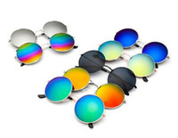arrival goggles - 201new arrival high quality fashion colorful unisex round vintage sunglasses Men s Women s