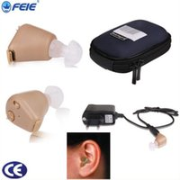 best properties - Therapy Supplies Properties Best price Rechargeable Canal ITE Hearing Aid S with four three earplugs