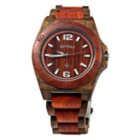 acrylic bangle display - 2016 Hot sell Men Watch Bewell Men Wooden Bangle Quartz Watch with Calendar Display Role Fashion and Classical